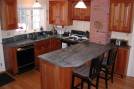 Polished Crowsfoot Kitchen-Kyle Variation