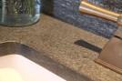 Galaxy counter detail with backsplash