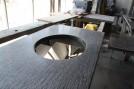 Galaxy sink cutout for a vanity in-progress