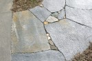 Closeup of a small walkway.