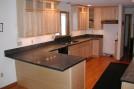 Polished Ashfield Schist kitchen - Galaxy/Quicksilver blend
