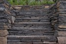 Steps incorporated into wall by Blair Clark